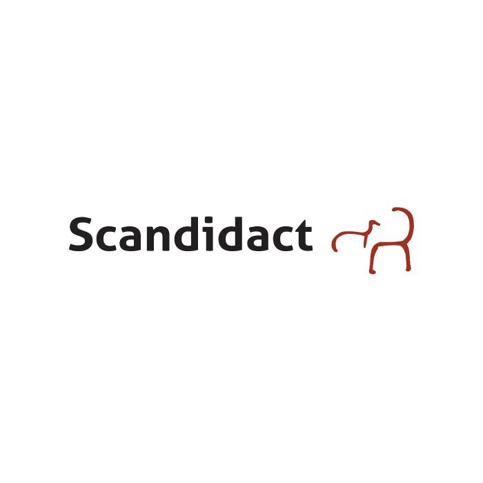 Objektplade sort/hvid, Ø95mm